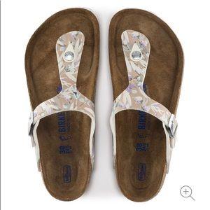 Birkenstock   NEW Gizeh Soft Footbed Floral Sandal